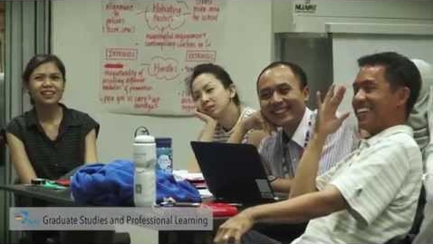 Thumbnail for entry NIE - Office of Graduate Studies & Professional Learning