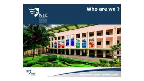 Thumbnail for entry What you need to know about Higher Degrees and Professional Learning @ NIE